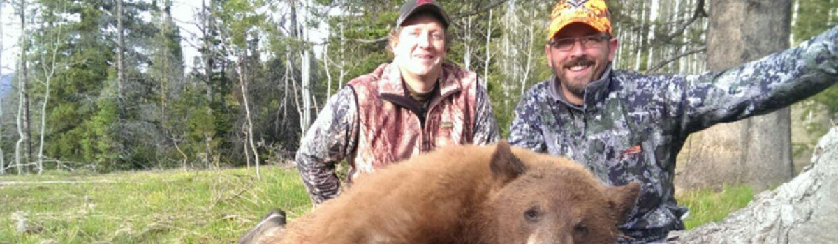 Rainy May Proved Tough For Spring Bear Hunters
