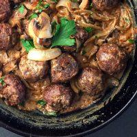 Recipe Inspiration: Antelope Meatball Stroganoff