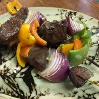 Summer Time Grilling Recipe: Elk Kabobs
