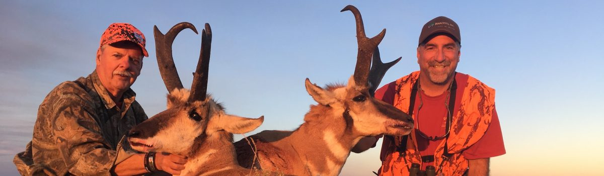 Wyoming Antelope Father Son Hunting Story