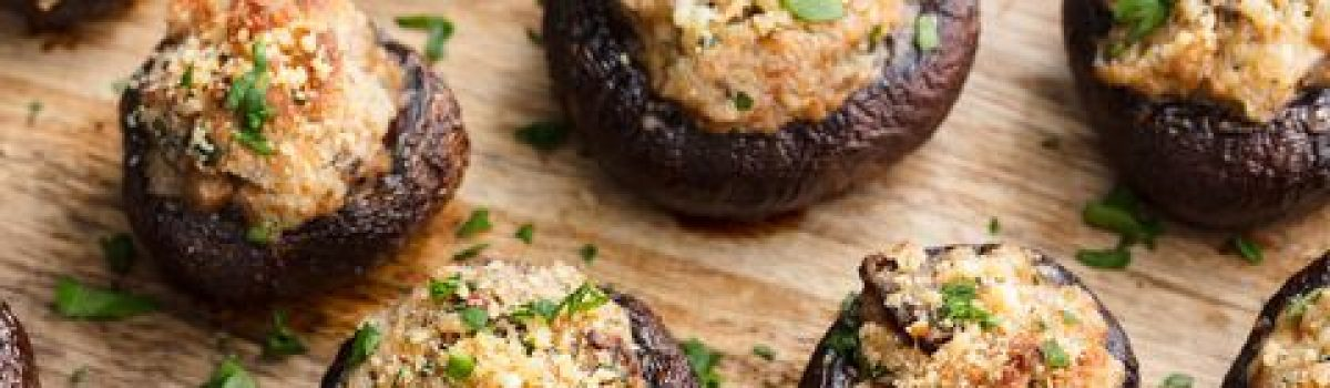 Holiday Appetizer Feature: Wild Game Stuffed Mushrooms
