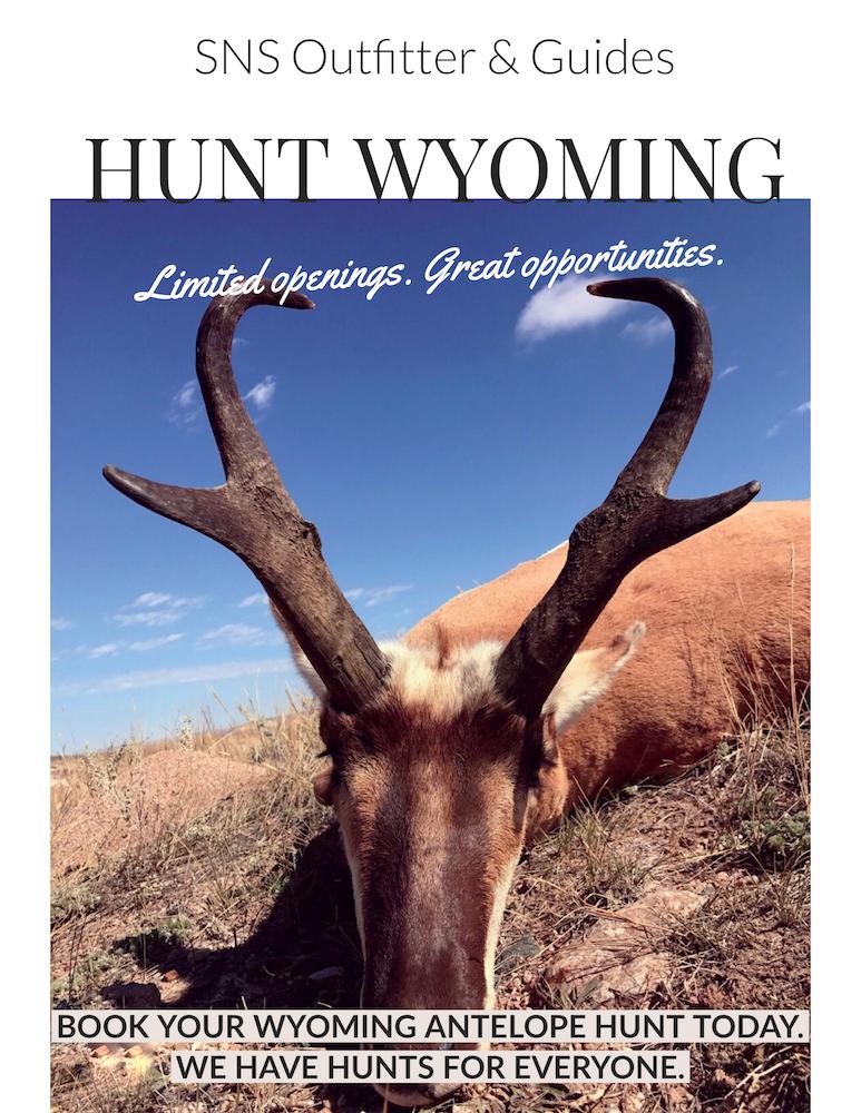 Antelope Hunting Wyoming