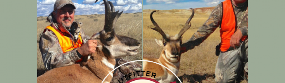 Last Call for Antelope Hunting in 2019