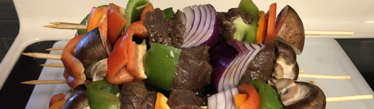 Antelope Kabobs: Wild Game for the Grill