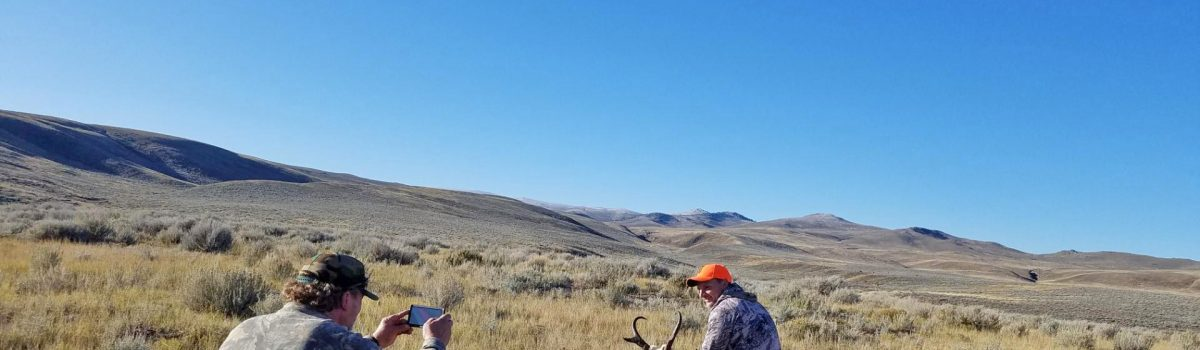 From the Hunter's Perspective: Wyoming Antelope Hunt 2019