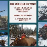 2020 Wyoming Elk Application Reminder