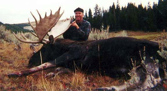 moose hunting with sns
